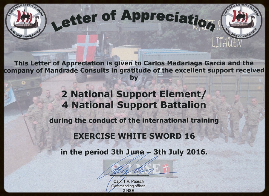 Mandrade consults field solutions field hospitals military the last months of june and july of 2016 the most important exercises white sword 16 in the last 10 years of the nato took place in lithuania spiritdancerdesigns Gallery